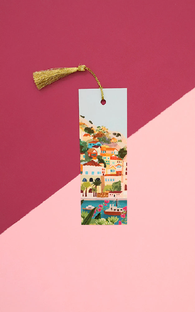 Mediterranean Summer Bookmark
