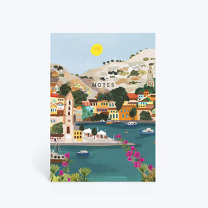 Mediterranean Summer notebook
