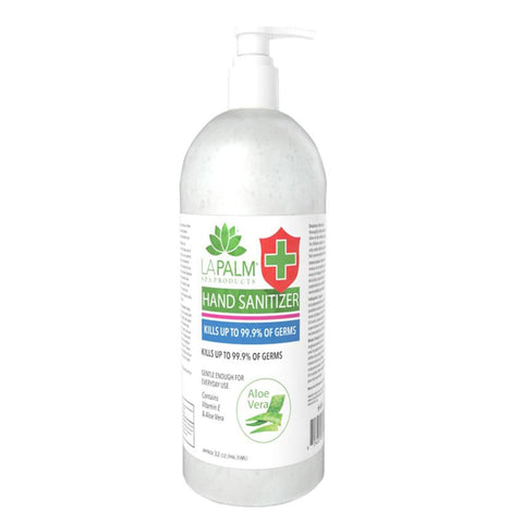 32 oz Gel Hand Sanitizer with Pump Top - Air Capital Distribution