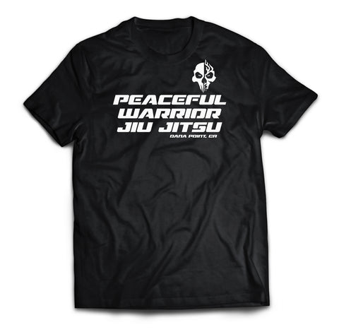 Peaceful Warrior Jiu Jitsu Tee