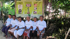 another CPALI women's group, sitting in matching SEPALI t-shirts