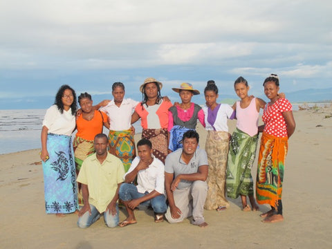 SEPALI Madagascar team on beach