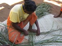CPALI woman weaving basket