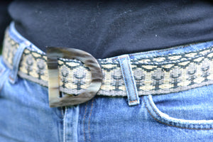 Decorative Raffia Belts