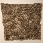 "Load image into Gallery viewer, Hand-Dyed Square Panel Non-Woven Wild-Gathered Cocoon Silk Madagascar (24"" x 24"")"