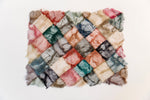 "Load image into Gallery viewer, Handmade Non-Woven Ceranchia Open Cocoon Silk Mosaic Placemats Madagascar (14""x18"")"