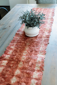 Ceranchia Shibori Table Runner