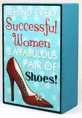 Wall Deco Successful Women 10x15cm