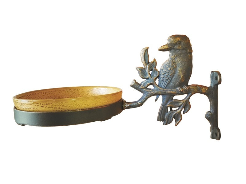 Kookaburra Cast Iron Bird Feeder