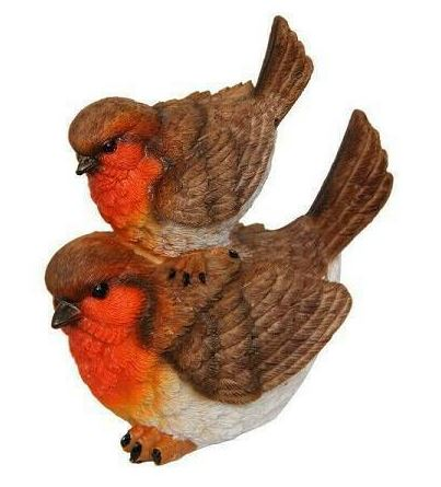 Twin Woodland Red Bird