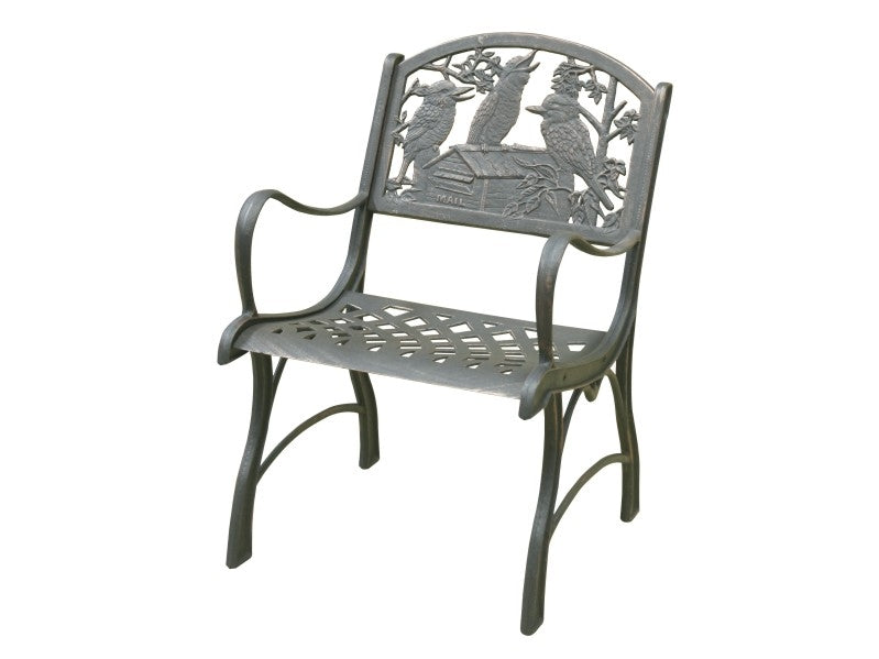 Kookaburra Cast Iron Chair