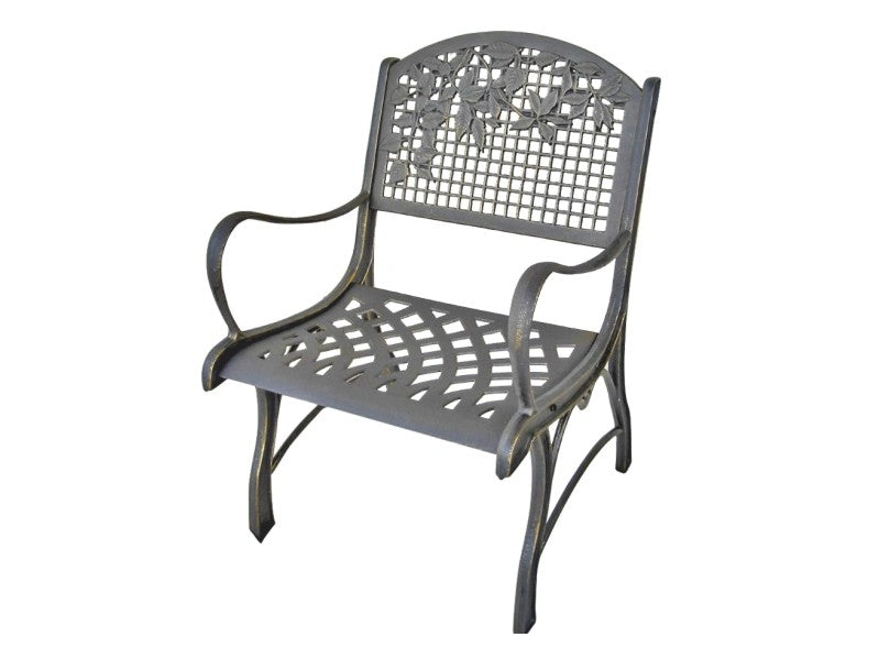 Leaves Cast Iron Chair