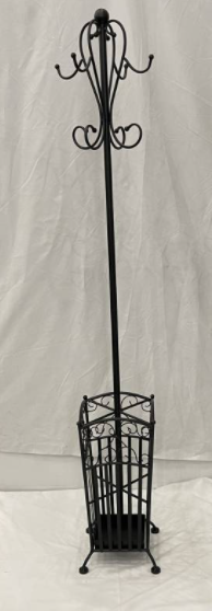 Coat Stand Square Black