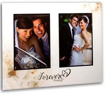Forever & Always Double Frame 4x6