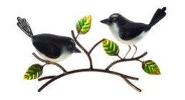 Willie Wagtail Pair Deco