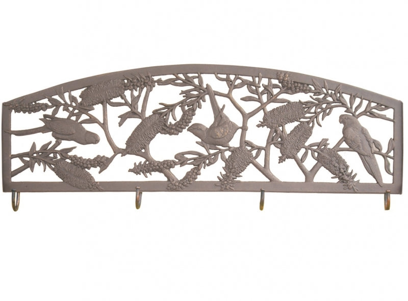 Rosella Cast Aluminium Coat Rack