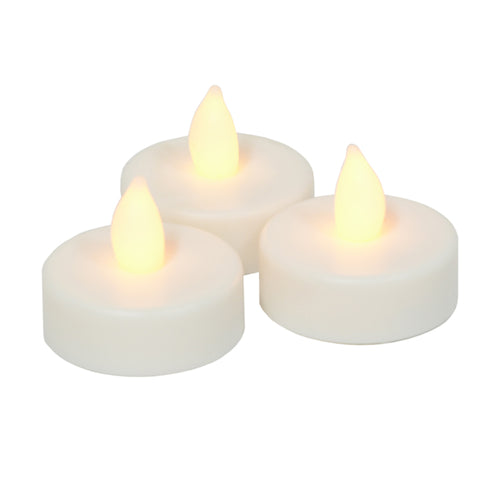Flameless LED Tealight Candles Pack of 4