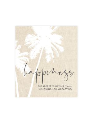 Tranquil Happiness Ceramic Magnet