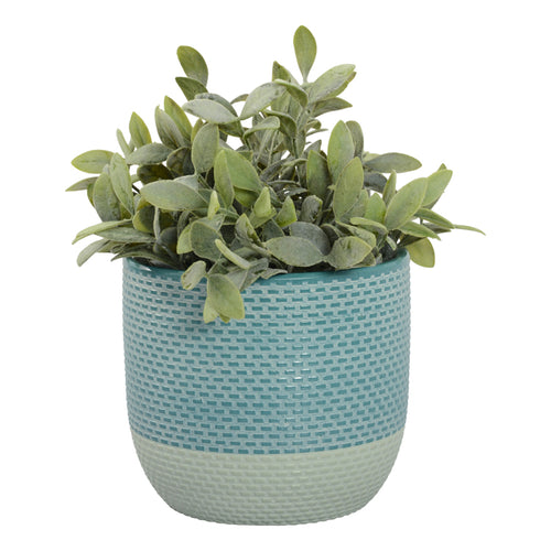 Holly Planter Pot Teal