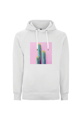 White Into the Heat Hoodie