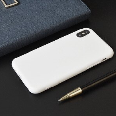 SSC-12 Phone Cover White Soft TPU