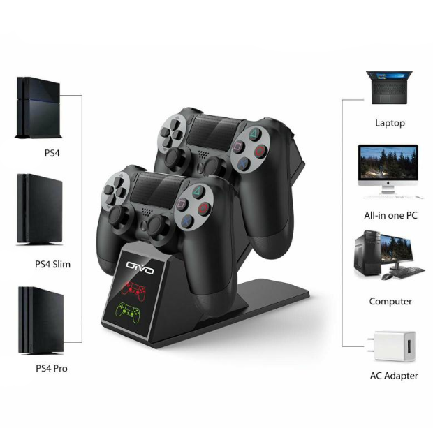 SSC-02 PS4 Dual Charging Stand