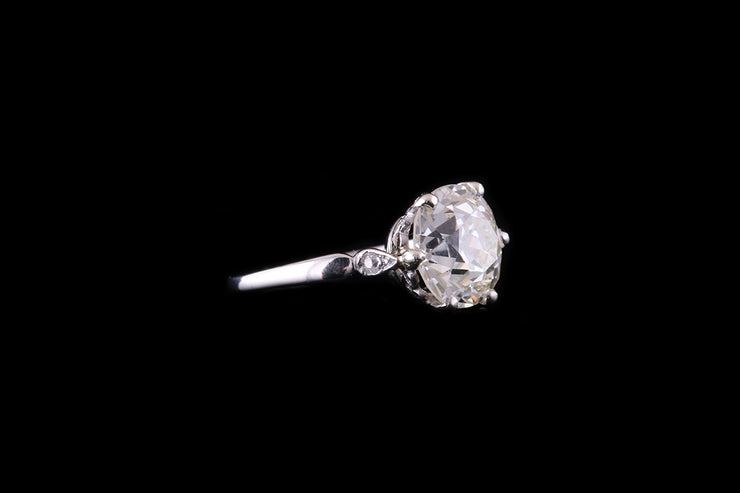 18ct White Gold Diamond Single Stone Ring
