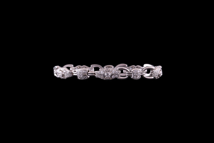 Platinum Diamond Set Bracelet