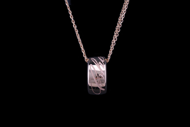 Chopard 18 ct Rose Gold Polo Pendant
