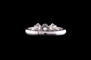 Platinum Diamond Three Stone Ring