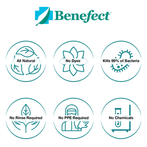Benefect Botanical Disinfectant Wipes (Case of 6)