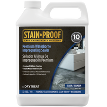 Load image into Gallery viewer, STAIN-PROOF by DryTreat, Premium Waterborne Impregnating Sealer Formerly Known as Stain Proof Waterborne