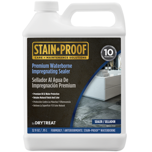 STAIN-PROOF by DryTreat, Premium Waterborne Impregnating Sealer Formerly Known as Stain Proof Waterborne