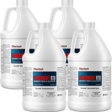 Load image into Gallery viewer, Shockwave RTU 1 Gallon: Multipurpose Disinfectant & Cleaner (Case of 4)
