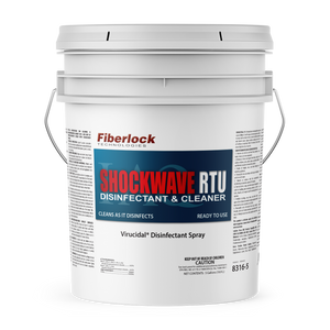 Shockwave RTU 5 Gallon:  Multipurpose Disinfectant & Cleaner
