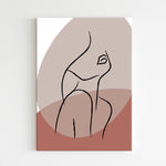 Load image into Gallery viewer, Abstract Woman Canvas