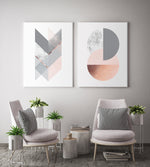 Load image into Gallery viewer, Geometric Harmony Canvas Set