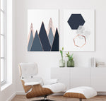 Load image into Gallery viewer, Scandinavian Geometry Canvas Set
