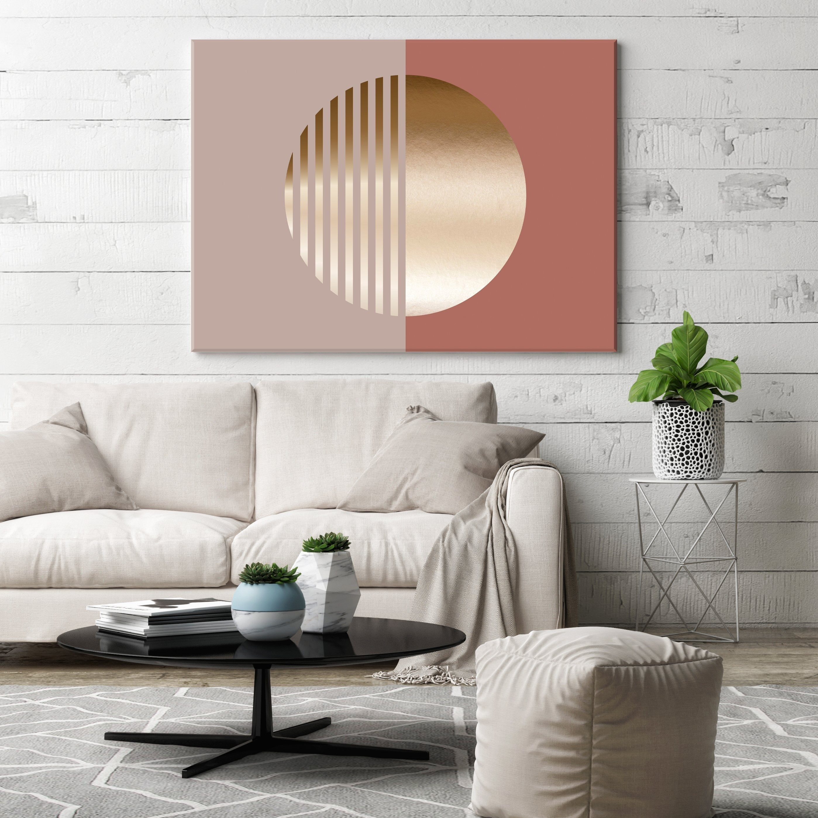 Golden Sunset Canvas