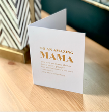 Load image into Gallery viewer, Amazing Mama Card