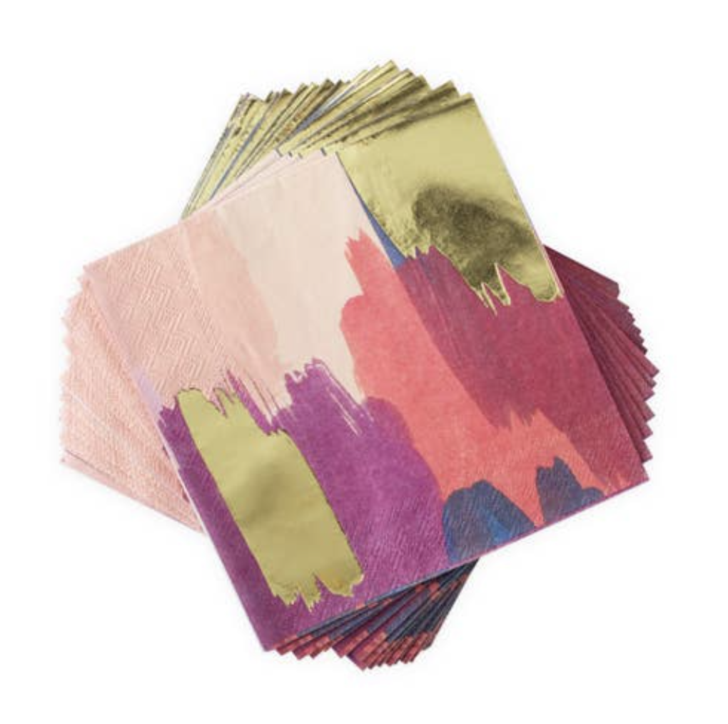 Watercolor Dinner Napkins (set of 20)