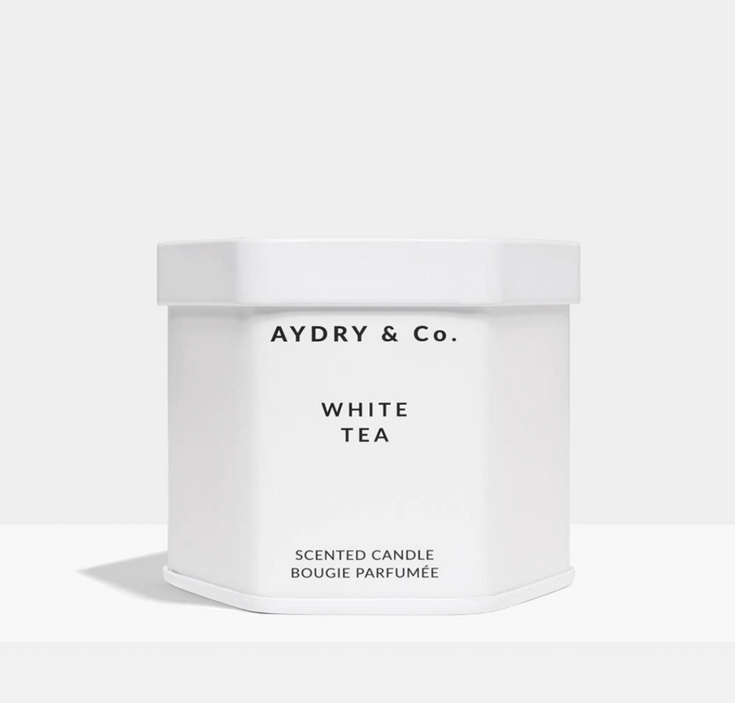 White Tea Candle 3.5oz