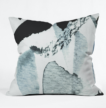Load image into Gallery viewer, Blue Watercolor Throw Pillow