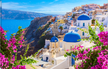 Load image into Gallery viewer, Santorini Escape Candle