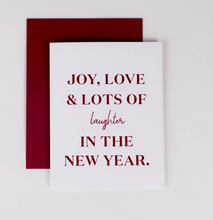 Load image into Gallery viewer, New Years Card