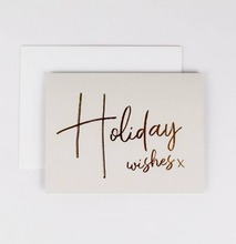 Load image into Gallery viewer, Holiday Wishes Card