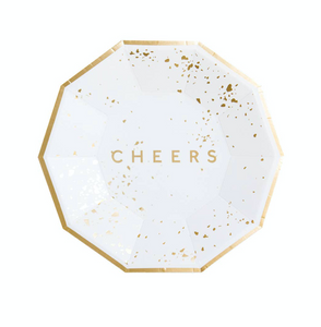 Cheers Small Paper Plates (set of 8)
