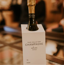 Load image into Gallery viewer, Wine Bottle Tags - Champagne (set of 3)