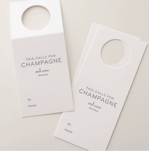 Wine Bottle Tags - Champagne (set of 3)