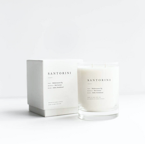 Santorini Escape Candle